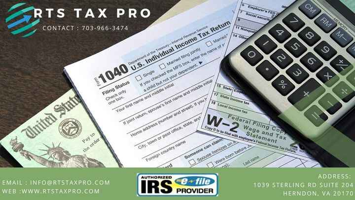 RTS Tax Pro updated their address.