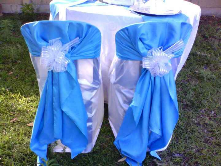 turquoise blue and grey demo deco